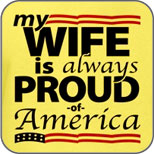 My Wife Is Proud of America