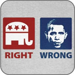 Anti Obama: Right and Wrong