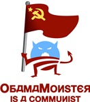 Obama Monster is a Communist