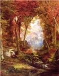 Lovely Autumn Trees Painting