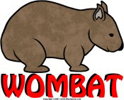 Wombat Logo