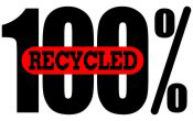 100 Percent Recycled