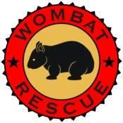 Wombat Rescue Crest