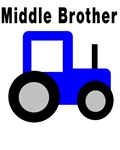 Middle Brother - Blue Tractor