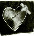 corkscrewed heart