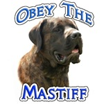 Mastiff (brindle) Obey