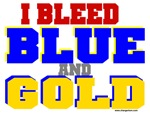Bleed Blue and Gold