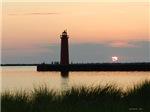 .Muskegon Breakwater Light.