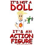 It's Not  A Doll! It's An Action Figure Original