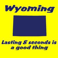 Wyoming state shirts