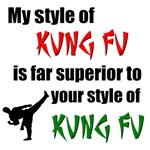 My Kung Fu is Superior