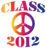 Class of 2012 Tie Dye Peace Sign