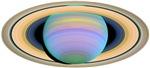 Saturn in Utraviolet