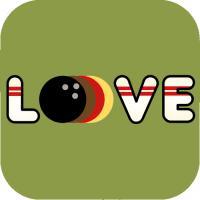 Retro Bowling Love