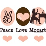 Wolfgang Amadeus Mozart T shirt Gifts