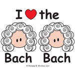 Bach Double Suzuki T-shirt Music Bag Gifts