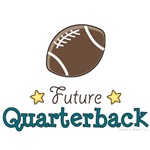 Future Quarterback Football Baby Kids T shirt Gift