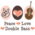 Double Bass Contrabass Player T shirt Gifts
