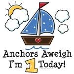 1st Birthday Sailboat Nautical Theme Party Ideas