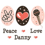 Peace Love Danny Gokey T shirts Tees Gifts