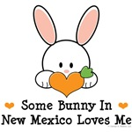 Some Bunny In New Mexico Loves Me T shirt Gifts