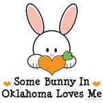 Some Bunny In Oklahoma Loves Me T shirt Gifts