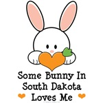 Some Bunny In South Dakota Loves Me T shirt Gifts