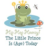 Frog Prince Birthday Party Clothes and Keepsakes