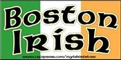Boston Irish - Flag Design