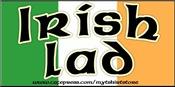 Irish Lad - Flag Design