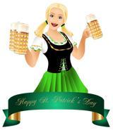 St Patrick's Day Bartender