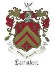 Carruthers Coat of Arms Mantle and Crest