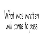 Fringe Quote: What Was Written Will Come to Pass
