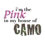 Pink in house of camo
