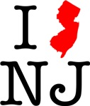 I Love NJ New Jersey