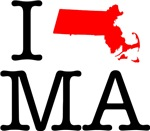 I Love MA Massachusetts