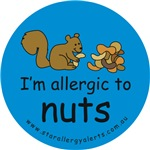 I'm allergic to nuts-squirrel blue