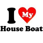 I Love My House Boat