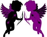 Cupids Black & Purple