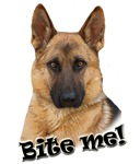 German Shepherd Bite Me design