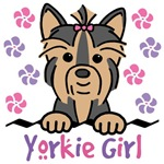 Yorkie Girl