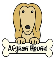 Afghan Hound Cartoon T-Shirts and Gifts