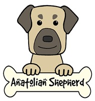 Anatolian Shepherd Cartoon T-Shirts and Gifts