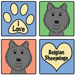 I Love Belgian Sheepdogs