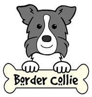 Border Collie Cartoon T-Shirts and Gifts