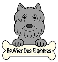 Bouvier des Flandres Cartoon T-Shirts and Gifts
