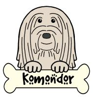 Komondor Cartoon T-Shirts and Gifts