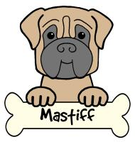 Mastiff Cartoon T-Shirts and Gifts