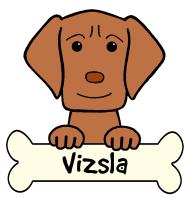 Vizsla Cartoon T-Shirts and Gifts