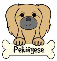 Pekingese Cartoon T-Shirts and Gifts